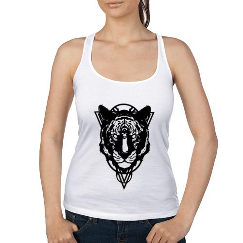 Черно-белый тигр