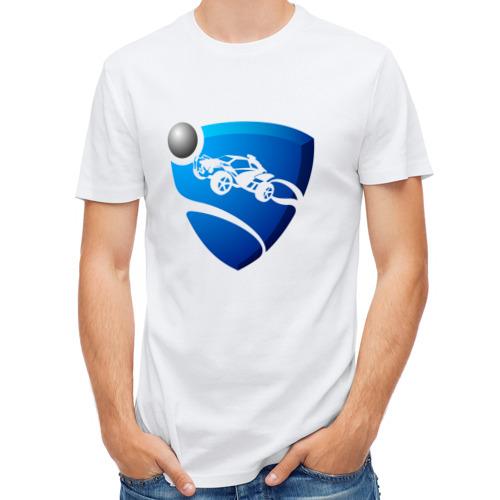 Мужская футболка полусинтетическая  Фото 01, Rocket League
