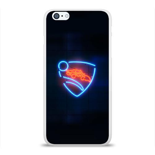 Чехол для Apple iPhone 6Plus/6SPlus силиконовый глянцевый  Фото 01, Rocket League