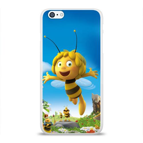 Чехол для Apple iPhone 6Plus/6SPlus силиконовый глянцевый  Фото 01, Пчелка Майя