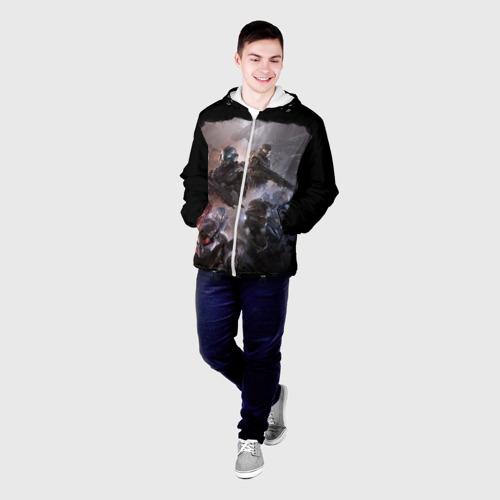 Мужская куртка 3D  Фото 03, Halo wars