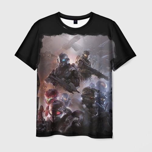 Мужская футболка 3D  Фото 03, Halo wars