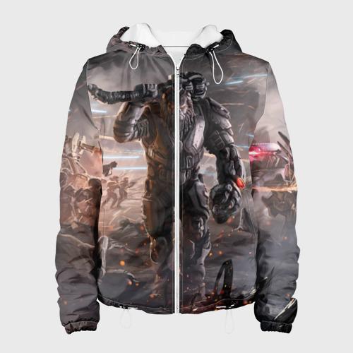 Женская куртка 3D  Фото 01, Halo wars