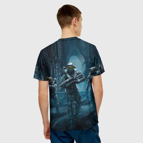 Мужская футболка 3D  Фото 02, Halo wars