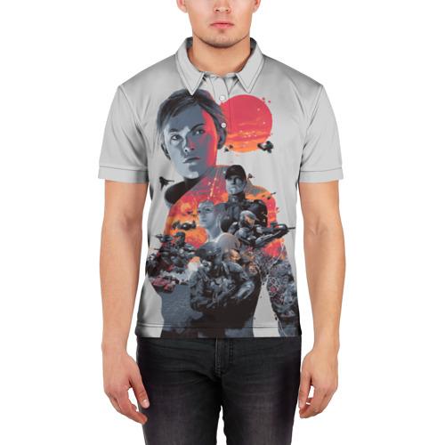 Мужская рубашка поло 3D  Фото 03, Halo wars