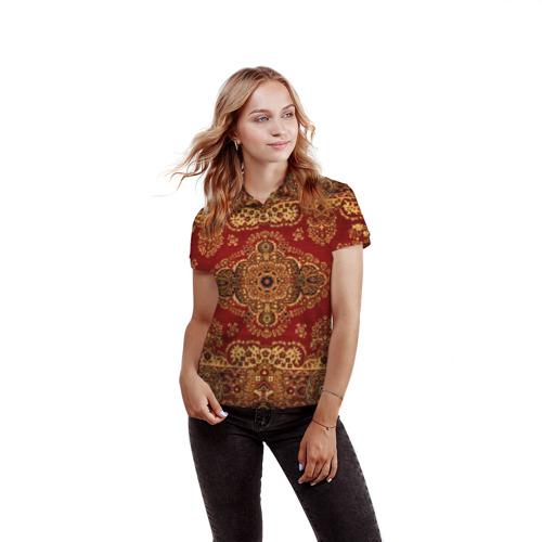 Женская рубашка поло 3D  Фото 03, Его Ворсейшество
