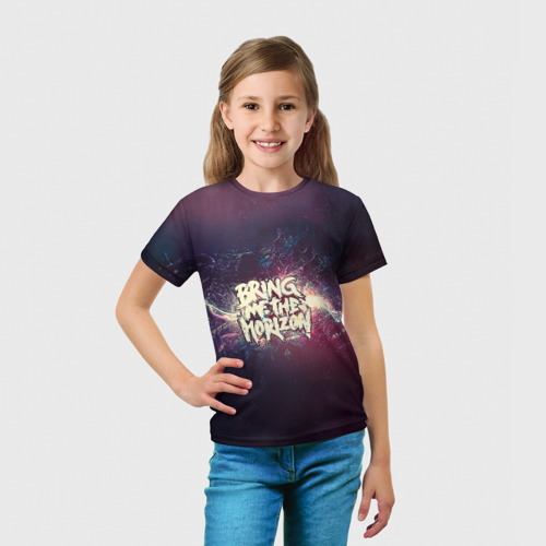 Детская футболка 3D  Фото 03, Bring Me the Horizon