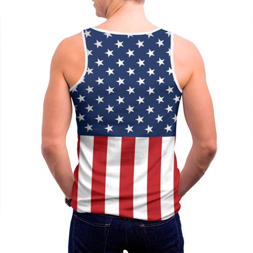 Мужская майка 3D  Фото 04, Флаг США