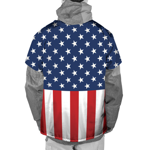 Накидка на куртку 3D  Фото 02, Флаг США