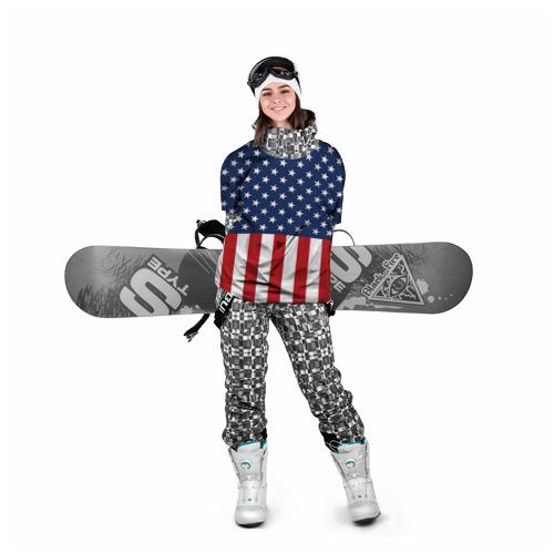 Накидка на куртку 3D  Фото 05, Флаг США
