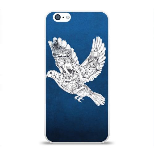 Чехол для Apple iPhone 6 силиконовый глянцевый  Фото 01, Coldplay