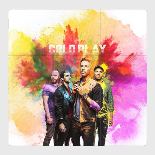 Магнитный плакат 3Х3 Coldplay