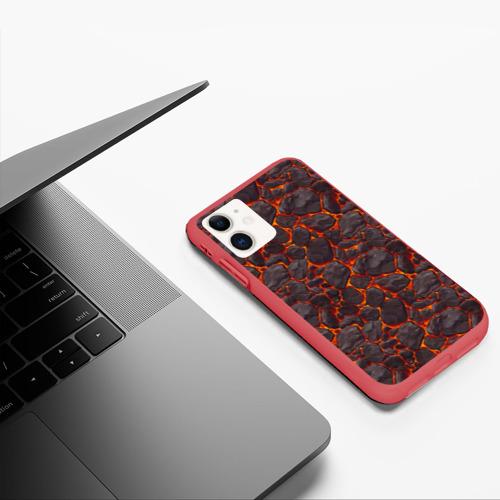 Чехол для iPhone 11 матовый Голем Фото 01
