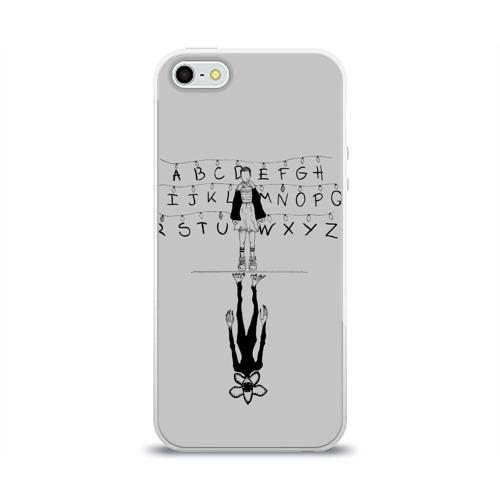 Чехол для Apple iPhone 5/5S силиконовый глянцевый  Фото 01, Лампочки