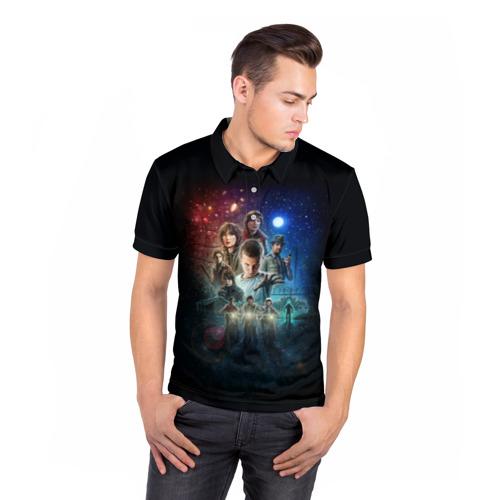 Мужская рубашка поло 3D  Фото 05, Stranger Things