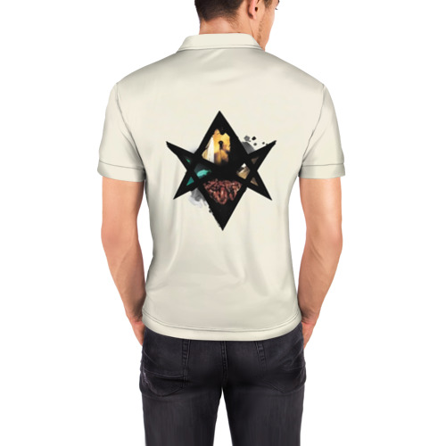 Мужская рубашка поло 3D  Фото 04, Bring Me the Horizon звезда