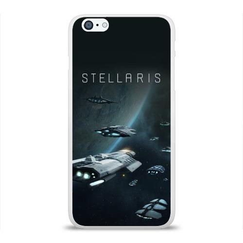 Чехол для Apple iPhone 6Plus/6SPlus силиконовый глянцевый  Фото 01, Stellaris
