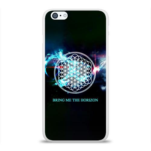 Чехол для Apple iPhone 6Plus/6SPlus силиконовый глянцевый  Фото 01, Bring Me the Horizon космос