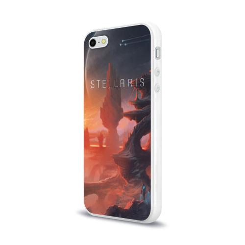 Чехол для Apple iPhone 5/5S силиконовый глянцевый  Фото 03, Stellaris