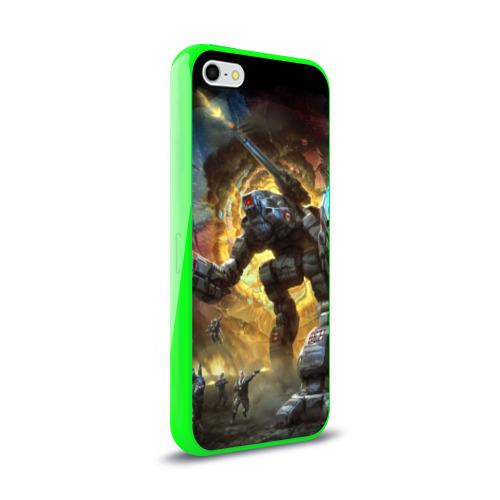 Чехол для Apple iPhone 5/5S силиконовый глянцевый  Фото 02, BattleTech