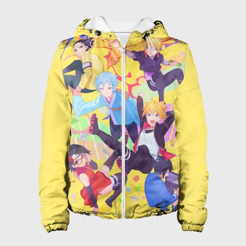 Женская куртка 3D  Фото 01, Боруто