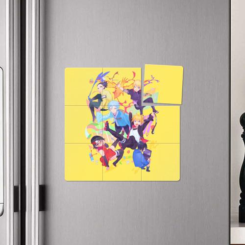 Магнитный плакат 3Х3  Фото 04, Боруто
