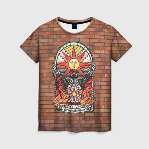 Женская футболка 3D Praise the sun Фото 01