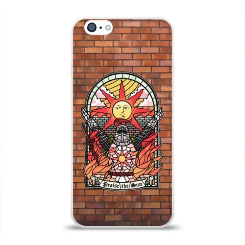 Чехол для Apple iPhone 6 силиконовый глянцевый Praise the sun Фото 01