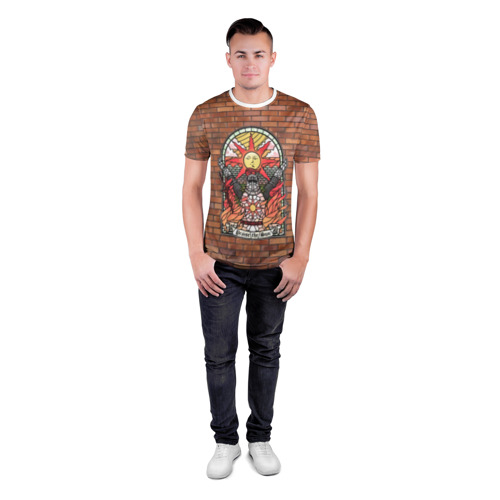 Мужская футболка 3D спортивная  Фото 04, Praise the sun