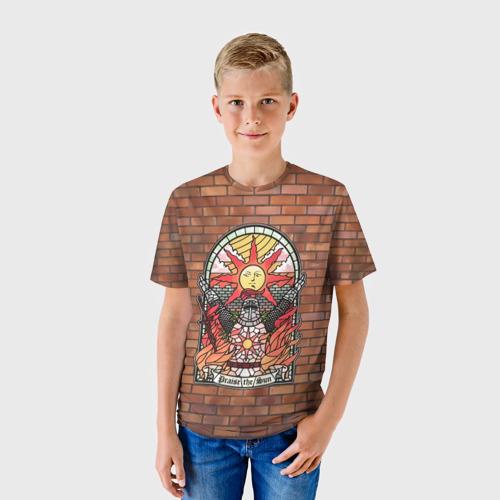 Детская футболка 3D Praise the sun Фото 01