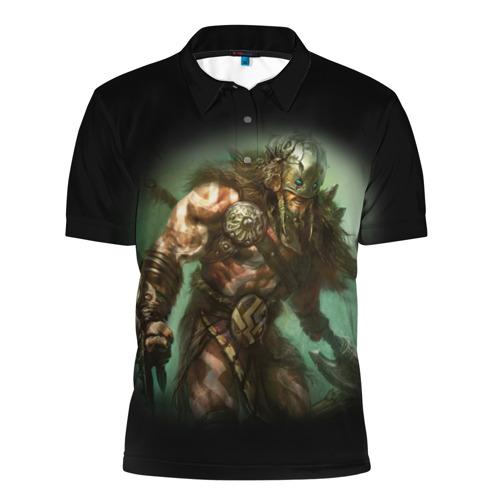 Мужская рубашка поло 3D  Фото 01, Magic: The Gathering