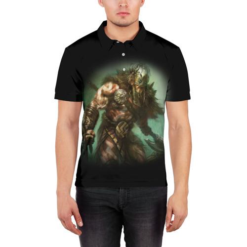 Мужская рубашка поло 3D  Фото 03, Magic: The Gathering