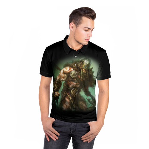 Мужская рубашка поло 3D  Фото 05, Magic: The Gathering
