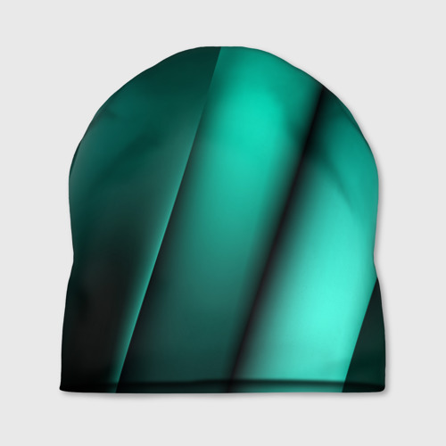 Шапка 3D  Фото 01, Emerald lines