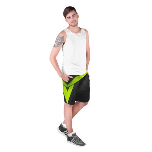 Мужские шорты 3D  Фото 03, Спортивная геометрия #6