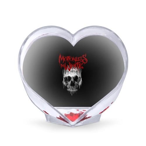 Сувенир Сердце  Фото 01, Motionless in White череп