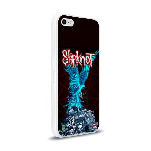 Чехол для Apple iPhone 5/5S силиконовый глянцевый  Фото 02, Орел группа Slipknot