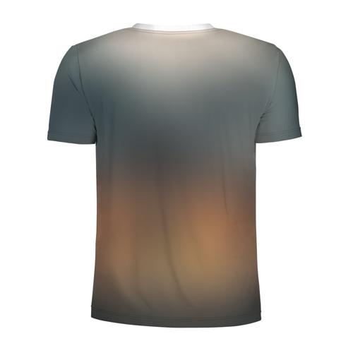 Мужская футболка 3D спортивная  Фото 02, Skull and Bones / Череп и кости