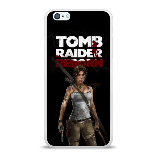 Чехол для Apple iPhone 6Plus/6SPlus силиконовый глянцевый  Фото 01, TOMB RAIDER