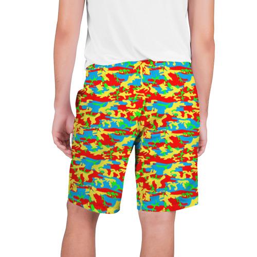 Мужские шорты 3D  Фото 02, Яркий камуфляж