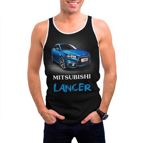 Мужская майка 3D  Фото 03, Mitsubishi Lancer