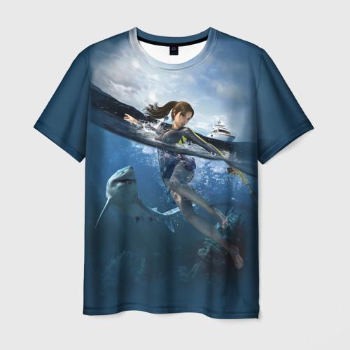 Мужская футболка 3D TOMB RAIDER