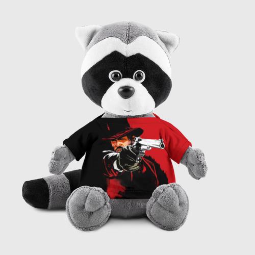 Игрушка Енотик в футболке 3D Red Dead Redemption Фото 01