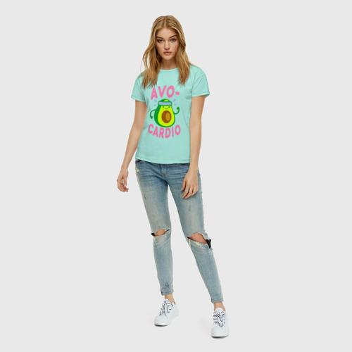 Женская футболка хлопок Avo-Cardio Фото 01
