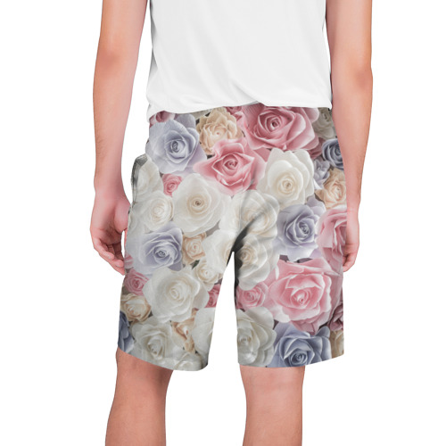 Мужские шорты 3D  Фото 02, Букет из роз