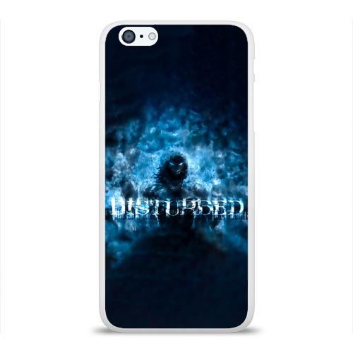 Чехол для Apple iPhone 6Plus/6SPlus силиконовый глянцевый  Фото 01, Демон Disturbed
