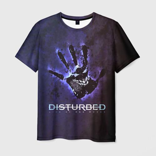 Мужская футболка 3D  Фото 01, Рука Disturbed