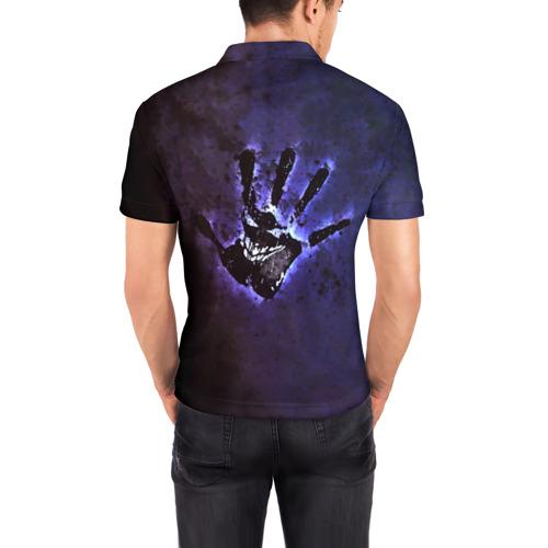 Мужская рубашка поло 3D  Фото 04, Рука Disturbed