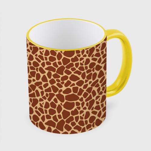 Кружка с полной запечаткой Жираф