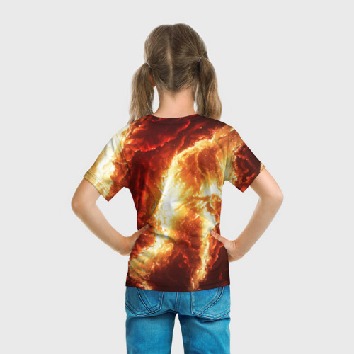 "Детская 3D футболка ""Gates of hades"" фото 3"